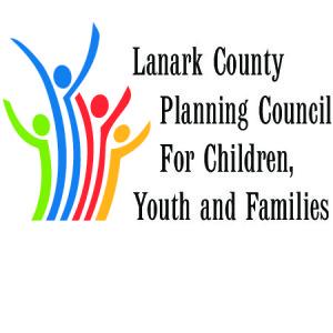 Logo du conseil de planification des services à l'enfance, à la jeunesse et aux familles du comté de Lanark