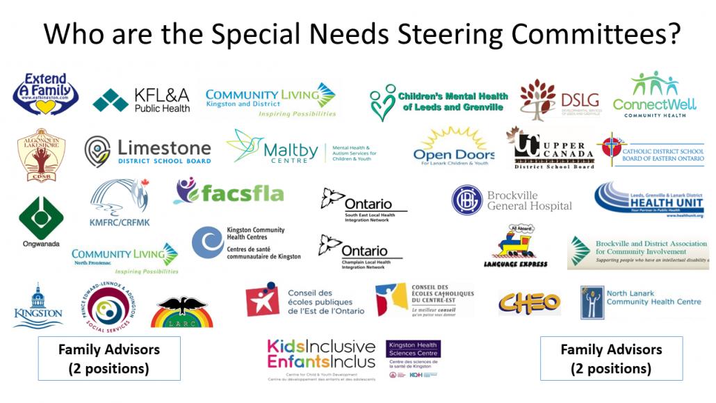 Special Needs Steering Committee Network Members Logos